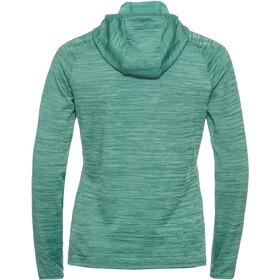 Odlo Millenium Element Hoody Women malachite green melange